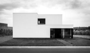 Woning-Glabbeek-voorgevel-zw
